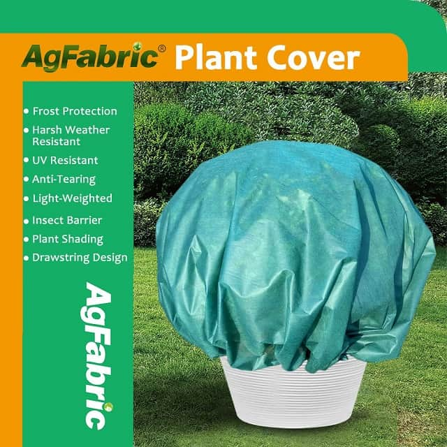 Agfabric Plant Cover Round Warm Worth Frost Blanket - Plant Covers for Winter Walmart