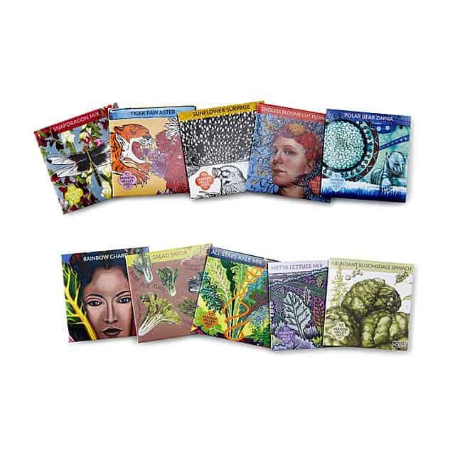 Artist Garden Seed Kits