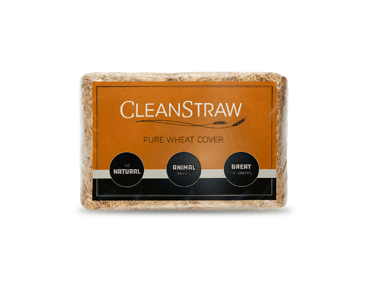 CleanStraw Natural Pure Wheat Cover Mulch