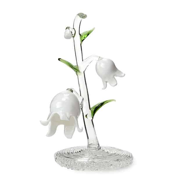 Glass Lily of the Valley May Birth Month Flower