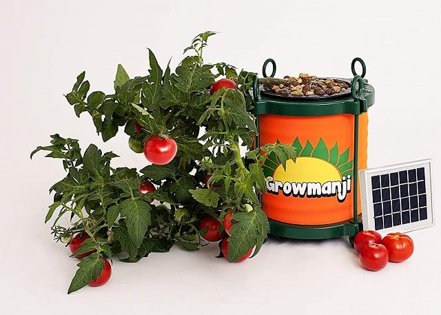 Growmanji Solar Powered Hydroponic System DWC,