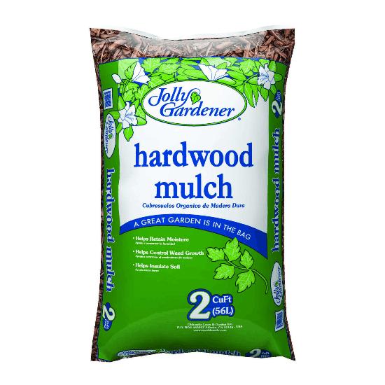 Jolly Gardener Natural Hardwood Mulch