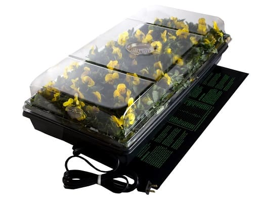 Jump Start,CK64050 Germination Station UL Listed Heat Mat, Tray, 72-Cell Pack, and 2 Dome