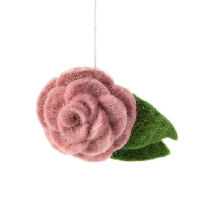 June Birth Month Flower Ornament
