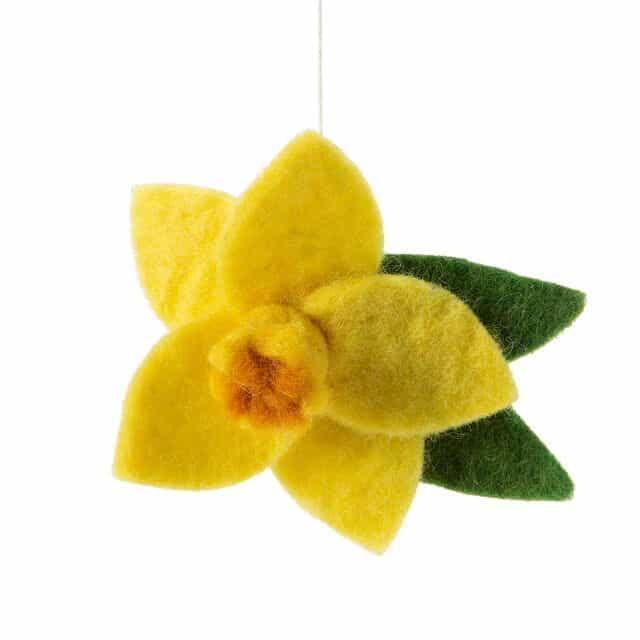 March Birth Month Flower Ornament