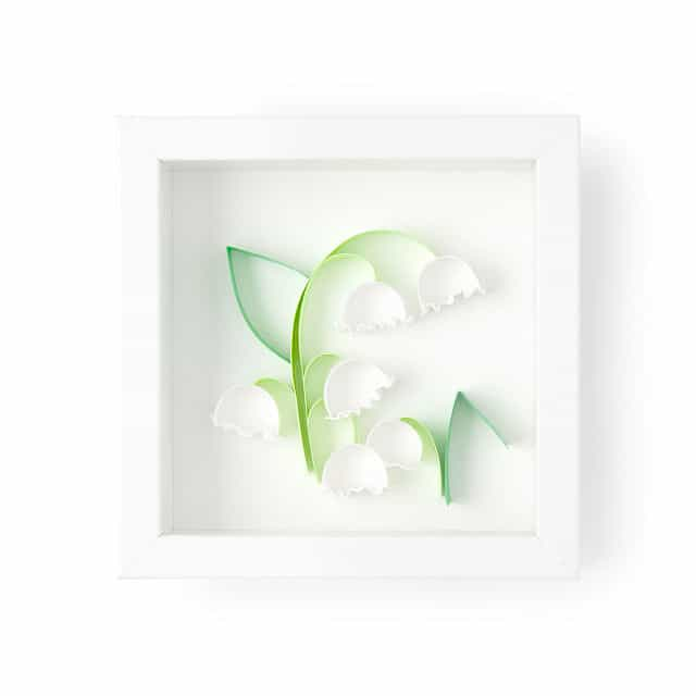 May Birth Month Flower Lily of the Valley 3Art