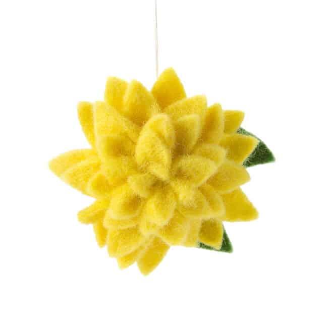 November Birth Month Flower Ornament