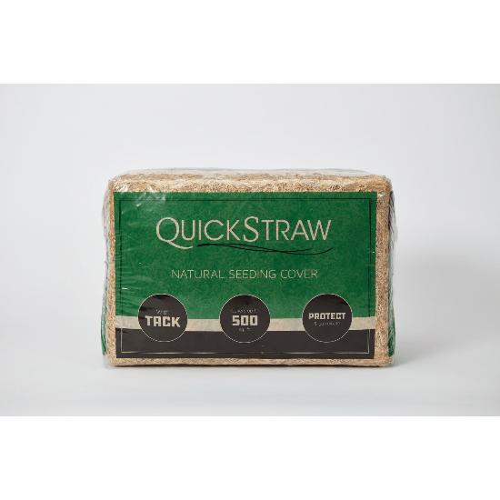 QuickStraw Natural Straw Seeding Cover