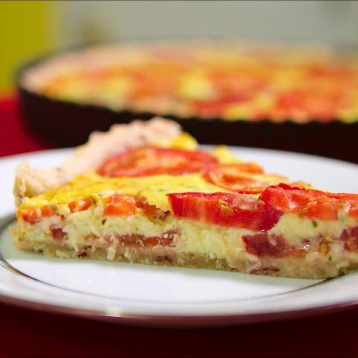 TIK Tomato Ricotta Tart.