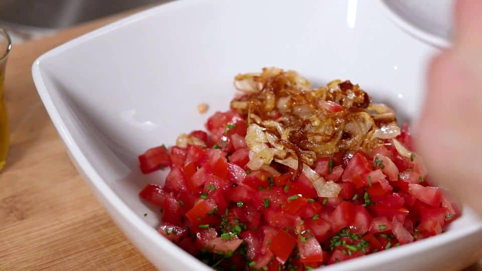 Tomato Tartar Recipe -10 Combine Onions