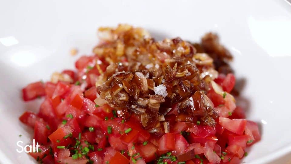 Tomato Tartar Recipe - 11 Salt and Dates