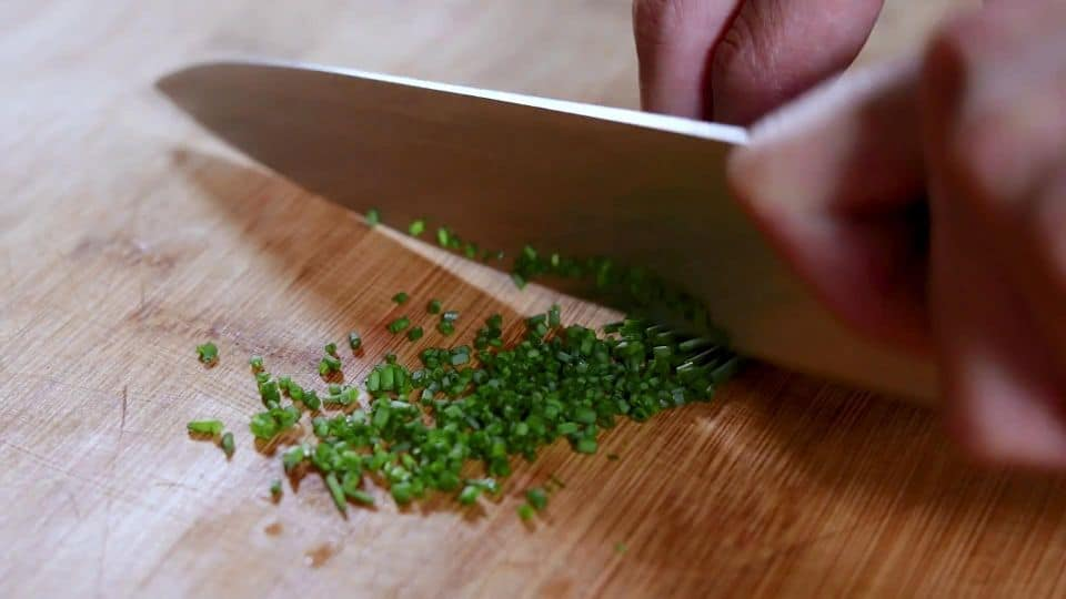 Tomato Tartar Recipe - 8 Dice Chives